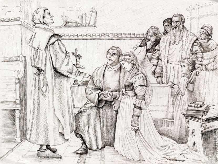 Luthers Hochzeit, Martin Luther, Mittelalter, Geschiche, Schneider ...